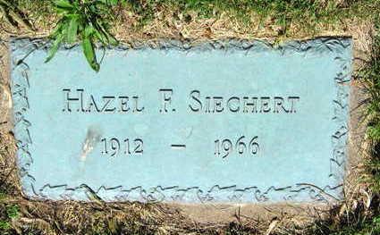 SIECHERT, HAZEL F. - Linn County, Iowa | HAZEL F. SIECHERT