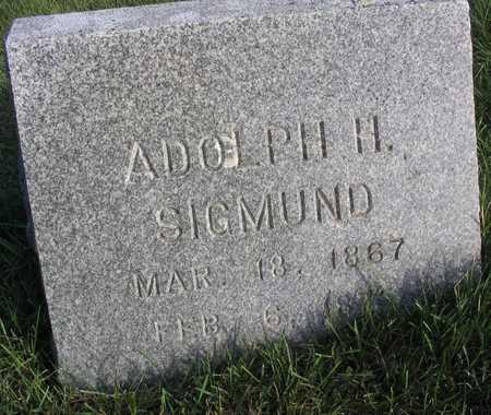 SIGMUND, ADOLPH H. - Linn County, Iowa | ADOLPH H. SIGMUND