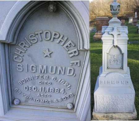 SIGMUND, CHRISTOPHER - Linn County, Iowa   CHRISTOPHER SIGMUND
