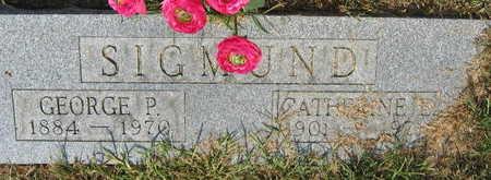 SIGMUND, GEORGE P. - Linn County, Iowa | GEORGE P. SIGMUND