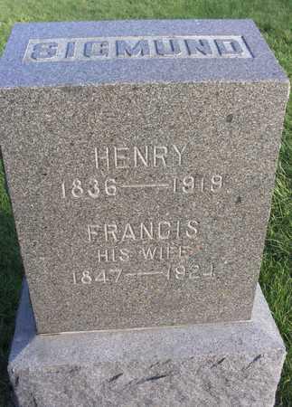 SIGMUND, HENRY - Linn County, Iowa | HENRY SIGMUND
