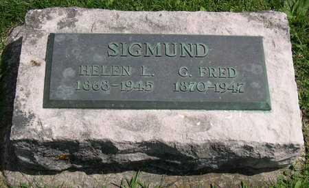 SIGMUND, G. FRED - Linn County, Iowa | G. FRED SIGMUND