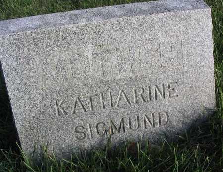SIGMUND, KATHARINE - Linn County, Iowa | KATHARINE SIGMUND