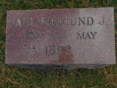 SIGMUND, PAUL JR. - Linn County, Iowa | PAUL JR. SIGMUND