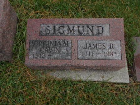 SIGMUND, JAMES B. - Linn County, Iowa | JAMES B. SIGMUND