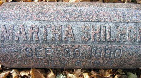SHILHON, MARTHA - Linn County, Iowa   MARTHA SHILHON