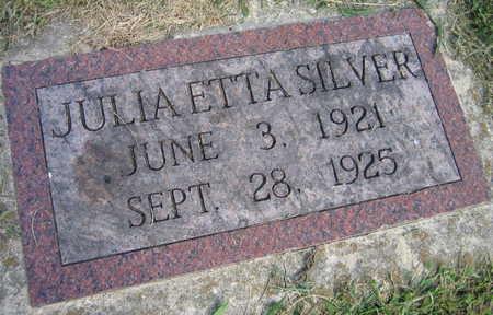 SILVER, JULIA - Linn County, Iowa | JULIA SILVER