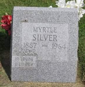 SILVER, MYRTLE - Linn County, Iowa   MYRTLE SILVER