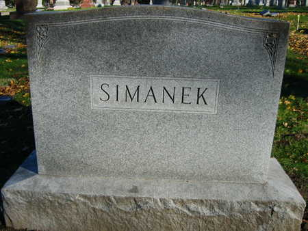 SIMANEK, FAMILY STONE - Linn County, Iowa | FAMILY STONE SIMANEK
