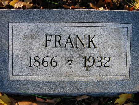 SIMANEK, FRANK - Linn County, Iowa   FRANK SIMANEK