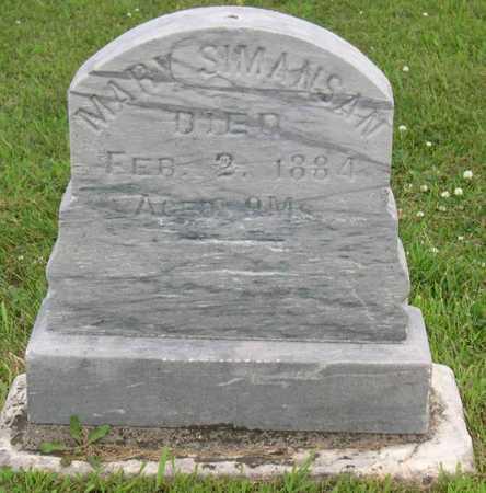 SIMANSAN, MARY - Linn County, Iowa | MARY SIMANSAN