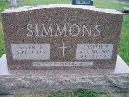 SIMMONS, JOSEPH F. - Linn County, Iowa | JOSEPH F. SIMMONS