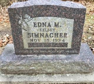 KELSEY SIMNACHER, EDNA M. - Linn County, Iowa | EDNA M. KELSEY SIMNACHER