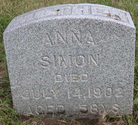 SIMON, ANNA - Linn County, Iowa | ANNA SIMON