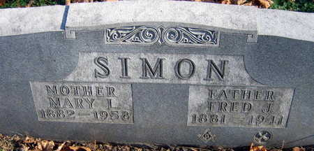 SIMON, FRED J. - Linn County, Iowa | FRED J. SIMON