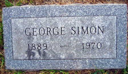 SIMON, GEORGE - Linn County, Iowa | GEORGE SIMON