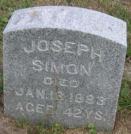 SIMON, JOSEPH - Linn County, Iowa | JOSEPH SIMON