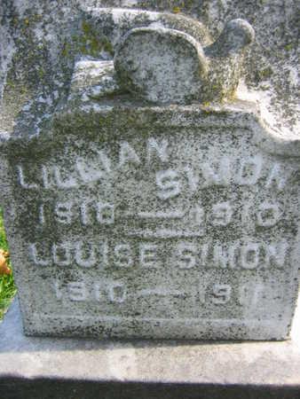 SIMON, LOUISE - Linn County, Iowa   LOUISE SIMON