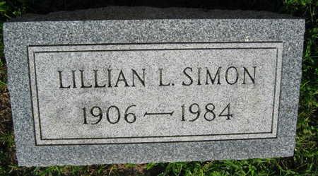 SIMON, LILLIAN L. - Linn County, Iowa   LILLIAN L. SIMON