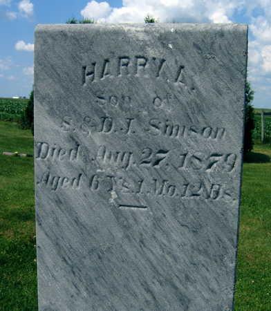 SIMSON, HARRY L. - Linn County, Iowa | HARRY L. SIMSON