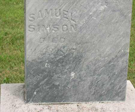 SIMSON, SAMUEL - Linn County, Iowa | SAMUEL SIMSON
