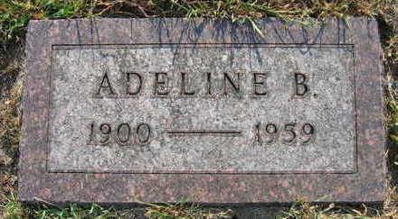 SINDELAR, ADELINE B. - Linn County, Iowa   ADELINE B. SINDELAR