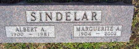 SINDELAR, MARQUERITE A. - Linn County, Iowa | MARQUERITE A. SINDELAR