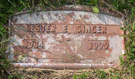 SINGER, LESTER E. - Linn County, Iowa | LESTER E. SINGER