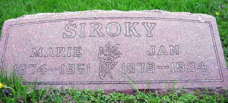 SIROKY, JAN - Linn County, Iowa   JAN SIROKY