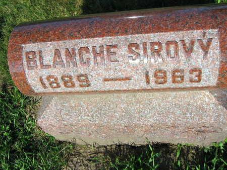 SIROVY, BLANCHE - Linn County, Iowa | BLANCHE SIROVY