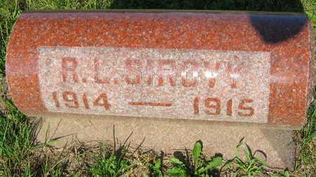 SIROVY, R. L. - Linn County, Iowa | R. L. SIROVY