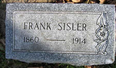 SISLER, FRANK - Linn County, Iowa | FRANK SISLER