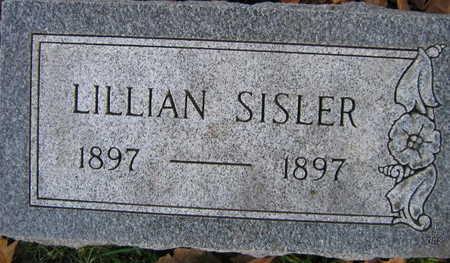 SISLER, LILLIAN - Linn County, Iowa   LILLIAN SISLER