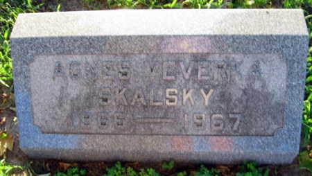 SKALSKY, AGNES - Linn County, Iowa | AGNES SKALSKY