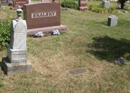 SKALSKY, FAMILY STONE - Linn County, Iowa | FAMILY STONE SKALSKY