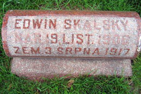 SKALSKY, EDWIN - Linn County, Iowa | EDWIN SKALSKY