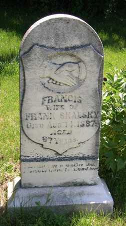 SKALSKY, FRANCIS - Linn County, Iowa | FRANCIS SKALSKY
