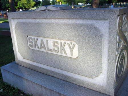 SKALSKY, FAMILY STONE - Linn County, Iowa   FAMILY STONE SKALSKY