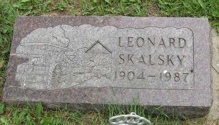 SKALSKY, LEONARD - Linn County, Iowa | LEONARD SKALSKY