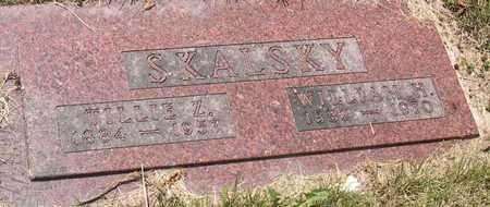 SKALSKY, TILLIE Z. - Linn County, Iowa   TILLIE Z. SKALSKY
