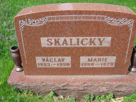 SKALSKY, MARIE - Linn County, Iowa | MARIE SKALSKY