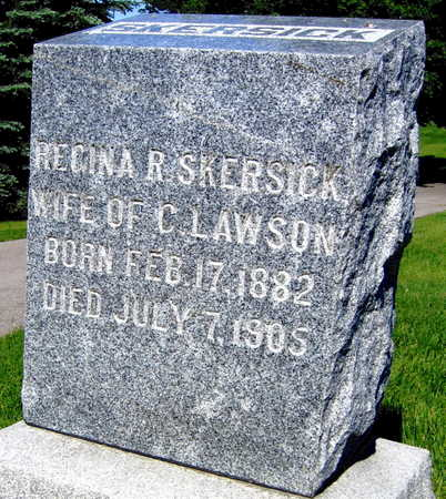 SKERSICK LAWSON, REGINA R. - Linn County, Iowa | REGINA R. SKERSICK LAWSON