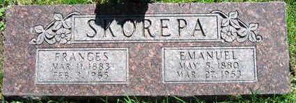 SKOREPA, FRANCES - Linn County, Iowa | FRANCES SKOREPA