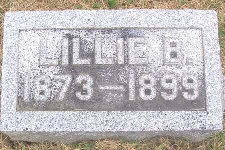 SLATER, LILLIE B. - Linn County, Iowa   LILLIE B. SLATER