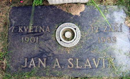 SLAVIK, JAN A. - Linn County, Iowa   JAN A. SLAVIK
