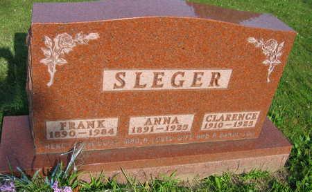 SLEGER, ANNA - Linn County, Iowa | ANNA SLEGER