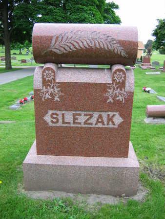 SLEZAK, FAMILY STONE - Linn County, Iowa | FAMILY STONE SLEZAK