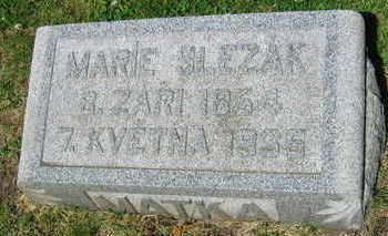 SLEZAK, MARIE - Linn County, Iowa | MARIE SLEZAK