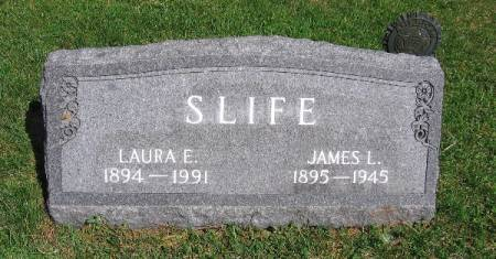 SLIFE, JAMES LEROY - Linn County, Iowa   JAMES LEROY SLIFE