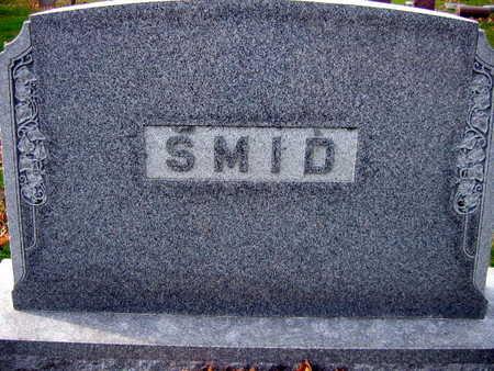 SMID, FAMILY STONE - Linn County, Iowa   FAMILY STONE SMID